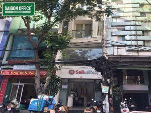 Cho thuê văn phòng quận 4 tòa nhà Sali Office