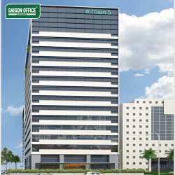 ETOWN 5 BUILDING - OFFICE FOR LEASE IN TAN BINH DISTRICT HCMC